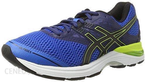 Amazon Asics Gel Pulse 9 męskie buty do biegania, kolor: niebieski (Directoire Blue Black Indigo Blue) niebieski 42.5 EU Ceneo.pl