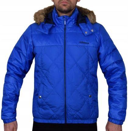 Nowa kurtka zimowa Adidas Neo zielona+granat r. L Ceny i opinie Ceneo.pl