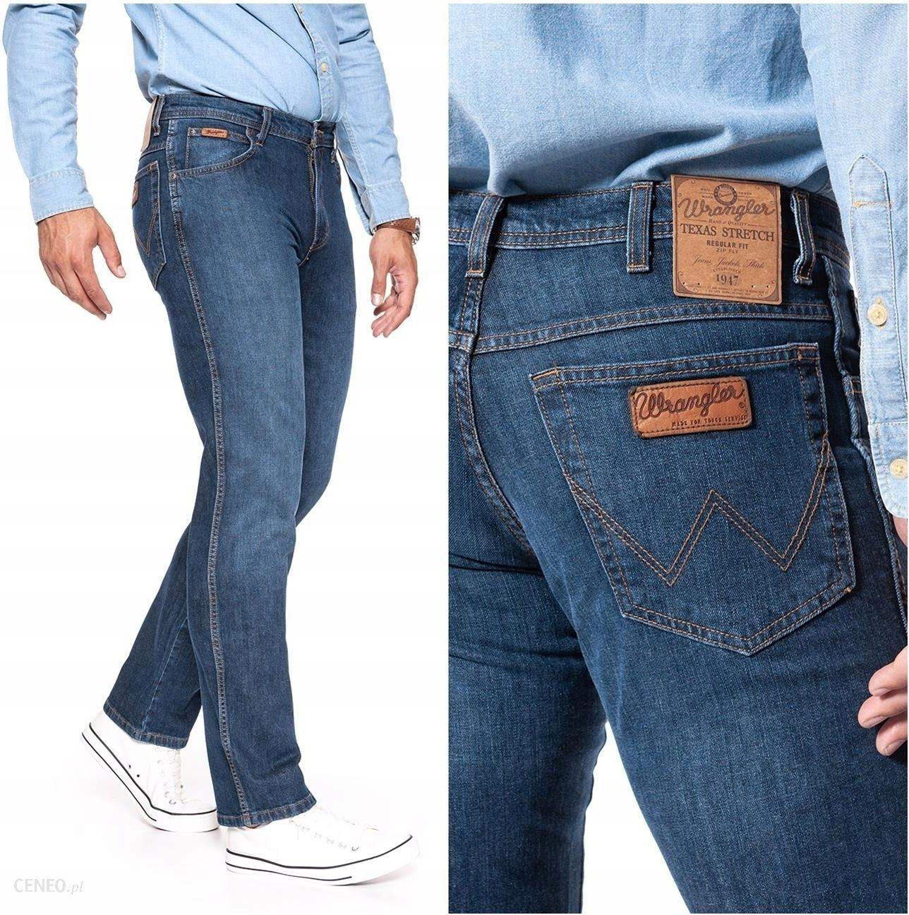 fef2d26f2ec4ce Wrangler Texas Spodnie Jeansowe Męskie Hit W32 L34 - Ceny i opinie ...