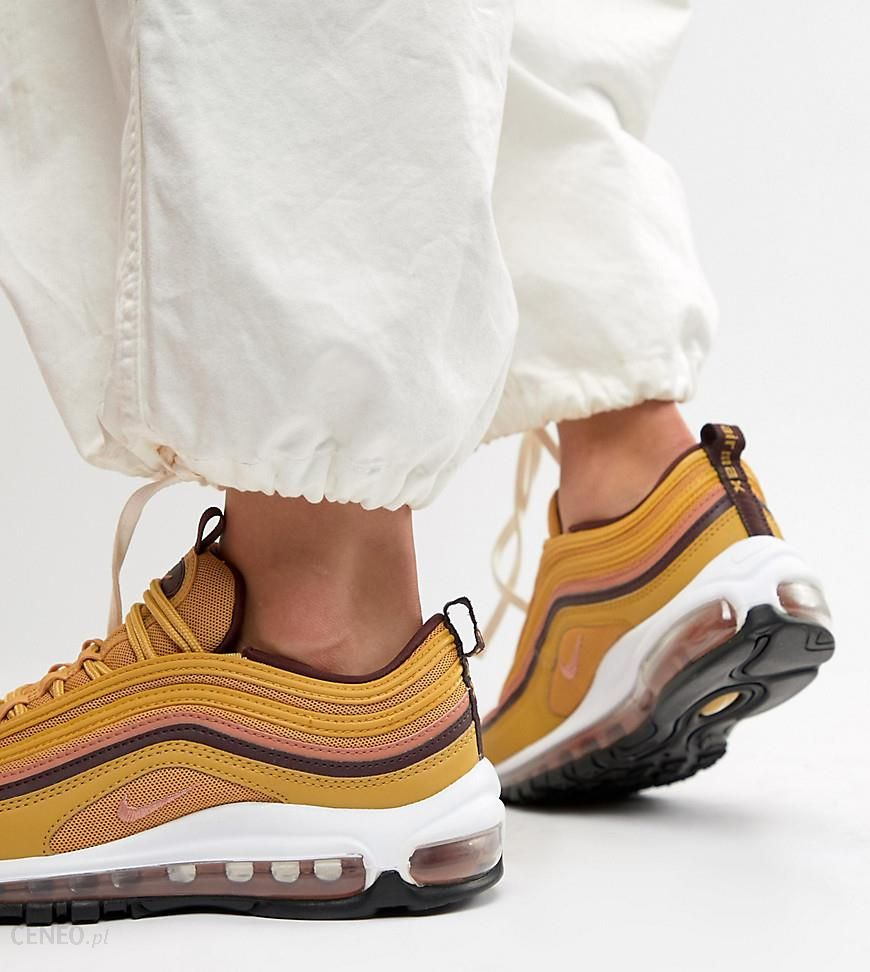 Nike Gold Tan Air Max 97 Trainers Gold Ceneo.pl