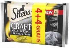 Sheba Craft Collection Smaki drobiowe saszetki 8x85g