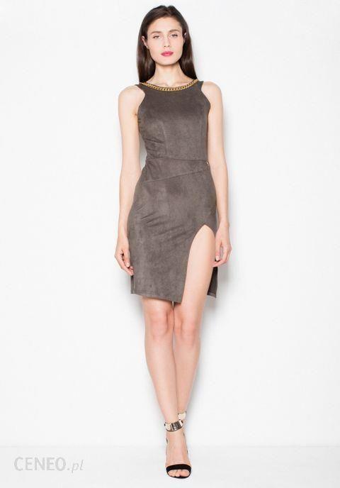 4aa55c346a Venaton Sukienka Model Vt059 Oliwka M - Ceny i opinie - Ceneo.pl
