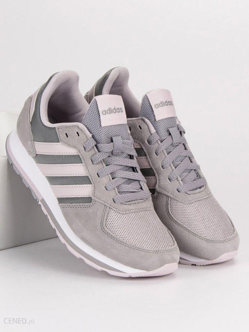 buty damskie adidas kwiaty bialo szate