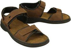 2d52dca0 JOSEF SEIBEL 10104 11 341 RAFE brasil/schwarz, sandały męskie