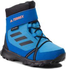 73c4bf45 Śniegowce adidas - Terrex Snow Cf Cp Cw K AC7966 Brblue/Cblack/Hireor  eobuwie. Buty zimowe ...