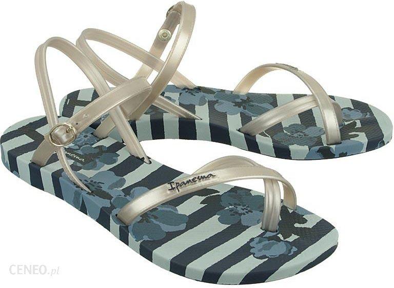 Ipanema Sandały damskie Fashion Sandal V Fem czarno złote r. 4142 (82291) Ceny i opinie Ceneo.pl
