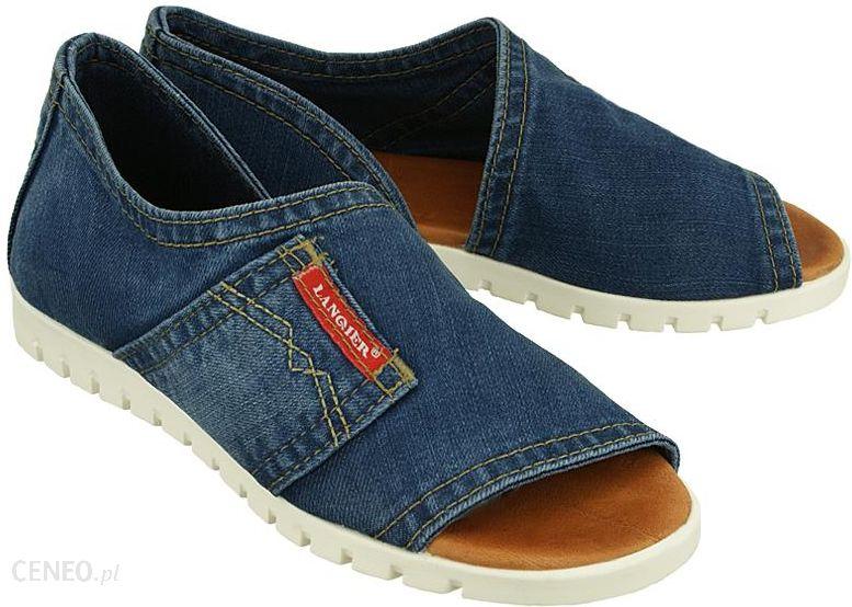 84edb624e39da LANQIER 40C235 jeans, sandały damskie - Ceny i opinie - Ceneo.pl