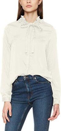 1fa988f656 Amazon Vero Moda damska bluzka vmlilje koszulka L S satyna - krój luźny 36 (