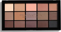 Makeup Revolution Re-Loaded Palette Paleta cieni do powiek Basic Mattes