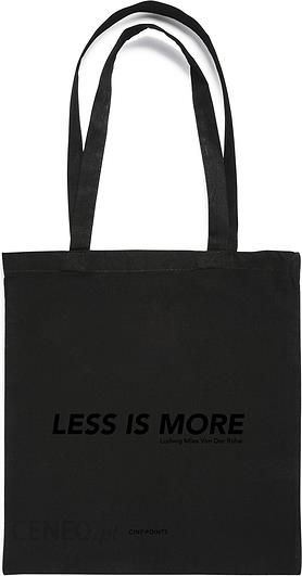 7bbc830065b5 Torba Tote Less is More Cinqpoints - Ceny i opinie - Ceneo.pl