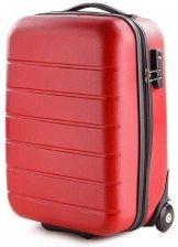 ff77e5623d57d Mała walizka VIP COLLECTION V25-10-741 czerwona - czerwony