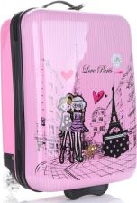 d7bceead3e574 Oryginalna Walizka Kabinówka Dla Dzieci Paris Firmy Madisson Multikolor -  Różowa ...