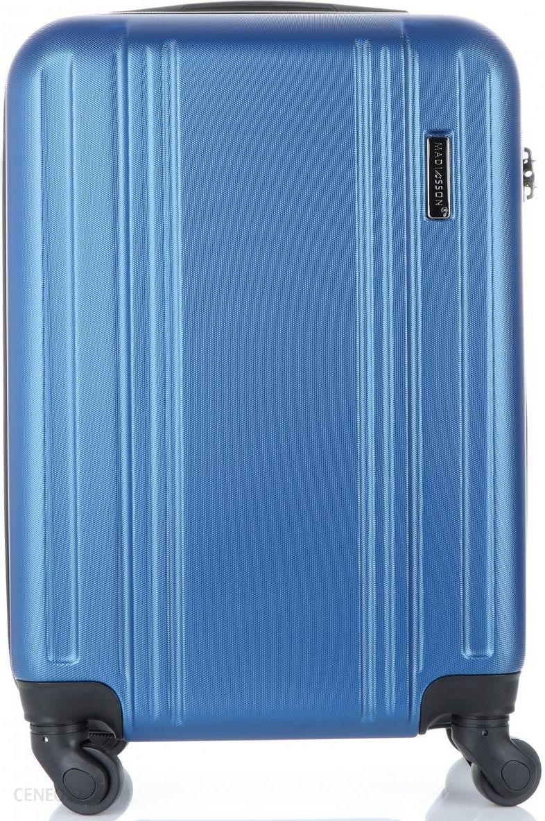 27774bed05bbb Modne Walizki Kabinówki 4 kółka renomowanej marki Madisson Niebieskie ( kolory) - zdjęcie 1