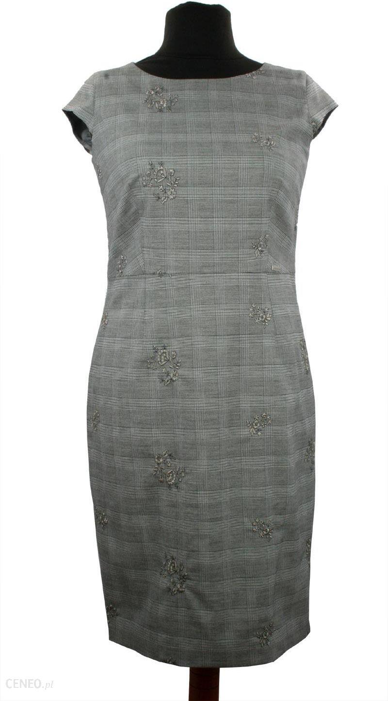 944ae71e42 Sukienka Alicja w elegancką kratę - Ceny i opinie - Ceneo.pl