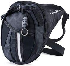 d2a34838162c5 Amazon Kieszeń na nogawce, torba z paskiem Fan Sport Fanny motocykl Racing  taille Drop torebka