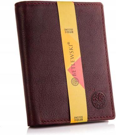 83218f39a781b Mały portfel na monety bilonówka brodrene cw01 cortez ciemny brąz ...