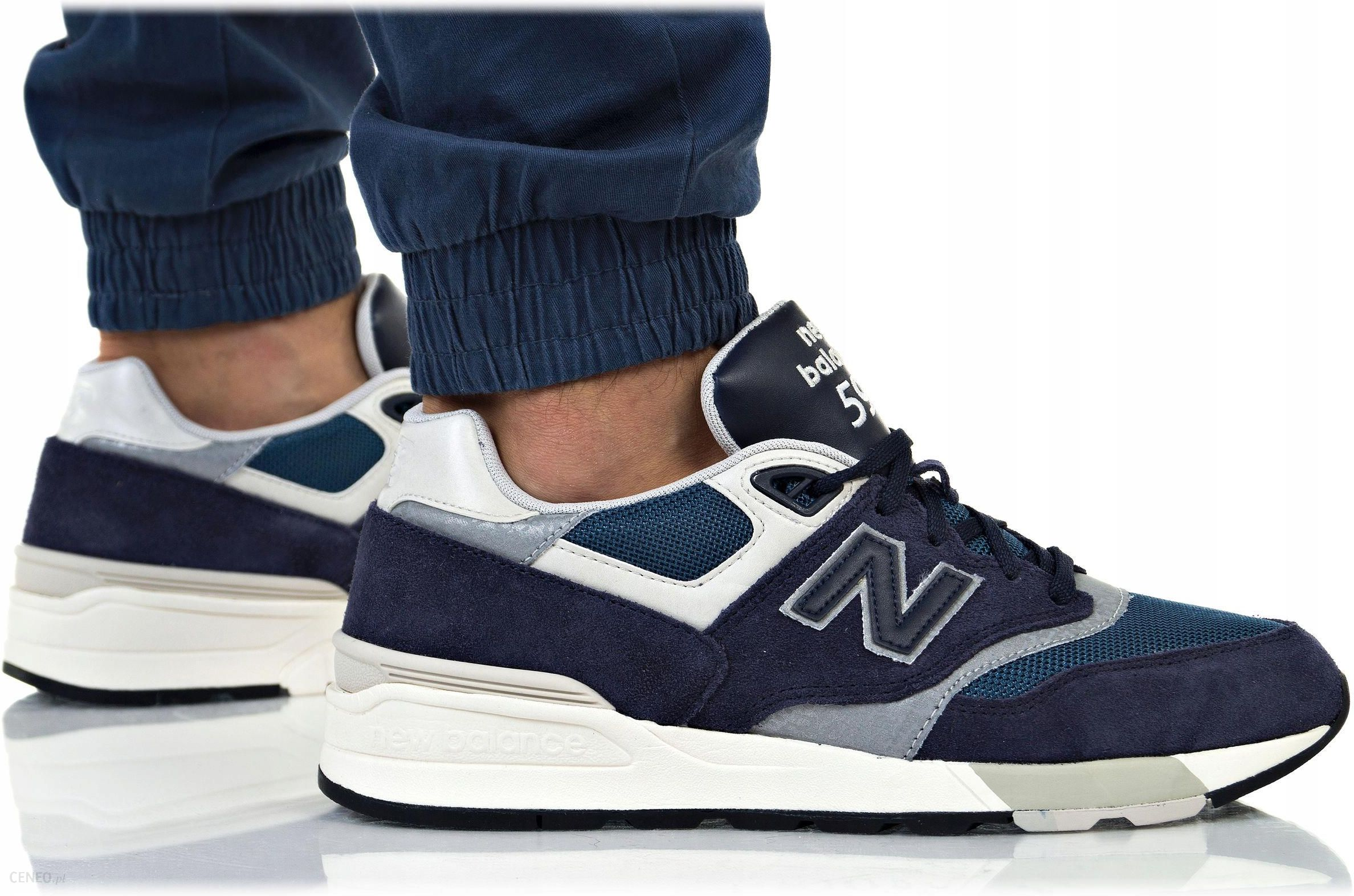 best sneakers 9d8ad 01620 Buty New Balance Męskie 597 ML597AAA Granatowe - zdjęcie 1