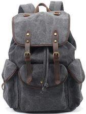 606e0f18f332c Amazon Plecaki baosha CN-01 stylowe Canvas Vintage Kobiety Mężczyźni Plecak  szkolny retro backpack dla