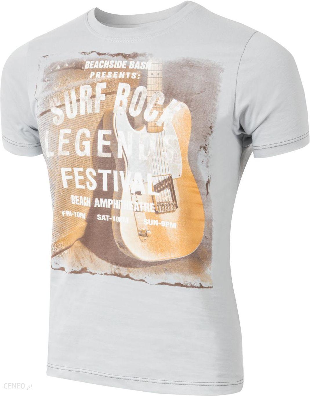 d15bef32a T-shirt Koszulka Koszulki Męskie Surf 3XL popiel - Ceny i opinie ...
