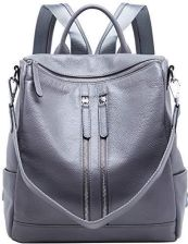 efd2ace2de859 Amazon BOYATU skórzany plecak torebka damska torba podróżna na ramię  Daypack damska