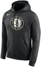 Męska bluza z kapturem NBA Brooklyn Nets Nike Czerń Ceny