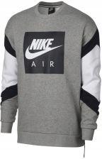 Bluza męska Sportswear French Terry Crew Nike (czerńbielintensywna czerwień)