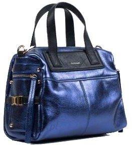 5053e20fe340d Monnari Torebka kuferek A170 granatowa glamour - Ceny i opinie ...