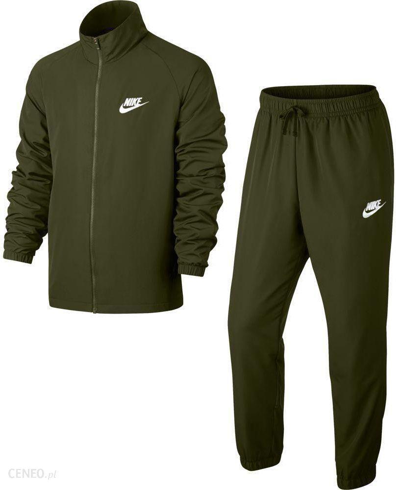 65ed28aadee3 Dres męski Sportswear NSW Track Suit Woven Basic Nike (khaki) - Ceny i  opinie - Ceneo.pl