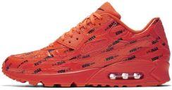 NIKE AIR MAX 90 PREMIUM kolor czerwony (700155604) Męskie