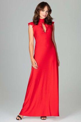 d4d0cc2909 Sukienki długie czerwone Moda damska - Ceneo.pl