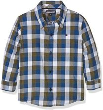 f0e02e67d274c Amazon Tommy Hilfiger chłopcy koszula DG gingham Twill Check koszulka L/S -