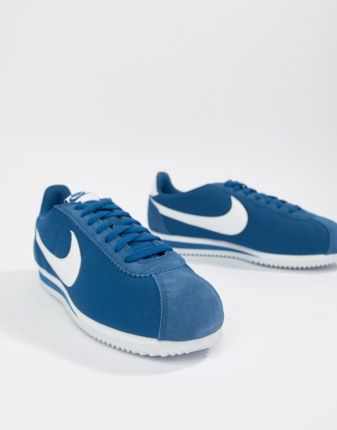 purchase cheap 6a758 81f64 Nike Classic Cortez Nylon Trainers In Blue 807472-406 - Blue