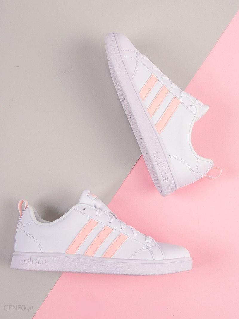 Adidas Buty damskie VS Advantage B42306 biało różowe r. 36 23 Ceny i opinie Ceneo.pl