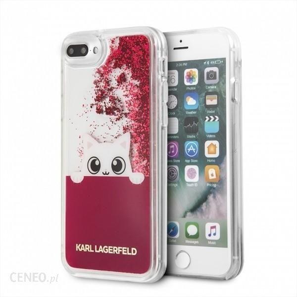 cheap for discount 21622 2f613 Karl Lagerfeld Hardcase iPhone 7/8 Plus Różowy Liquid Glitter  (KLHCI8LPABGFU) - Etui na telefon, ceny i opinie - Ceneo.pl