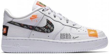 Buty Nike Air Force 1 Premium Just Do It (GS) AO3977 100 Ceny i opinie Ceneo.pl