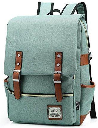 c11944b41817b Amazon essvita Vintage plecak męski damski unisex School Student Oxford  Laptop plecak plecaki retro plecak szkolny