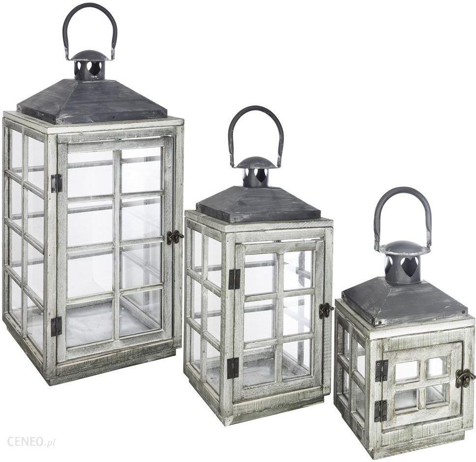 atmosphera cr ateur d 39 int rieur zestaw trzech lampion w z drewna b07fqfp7mz opinie i