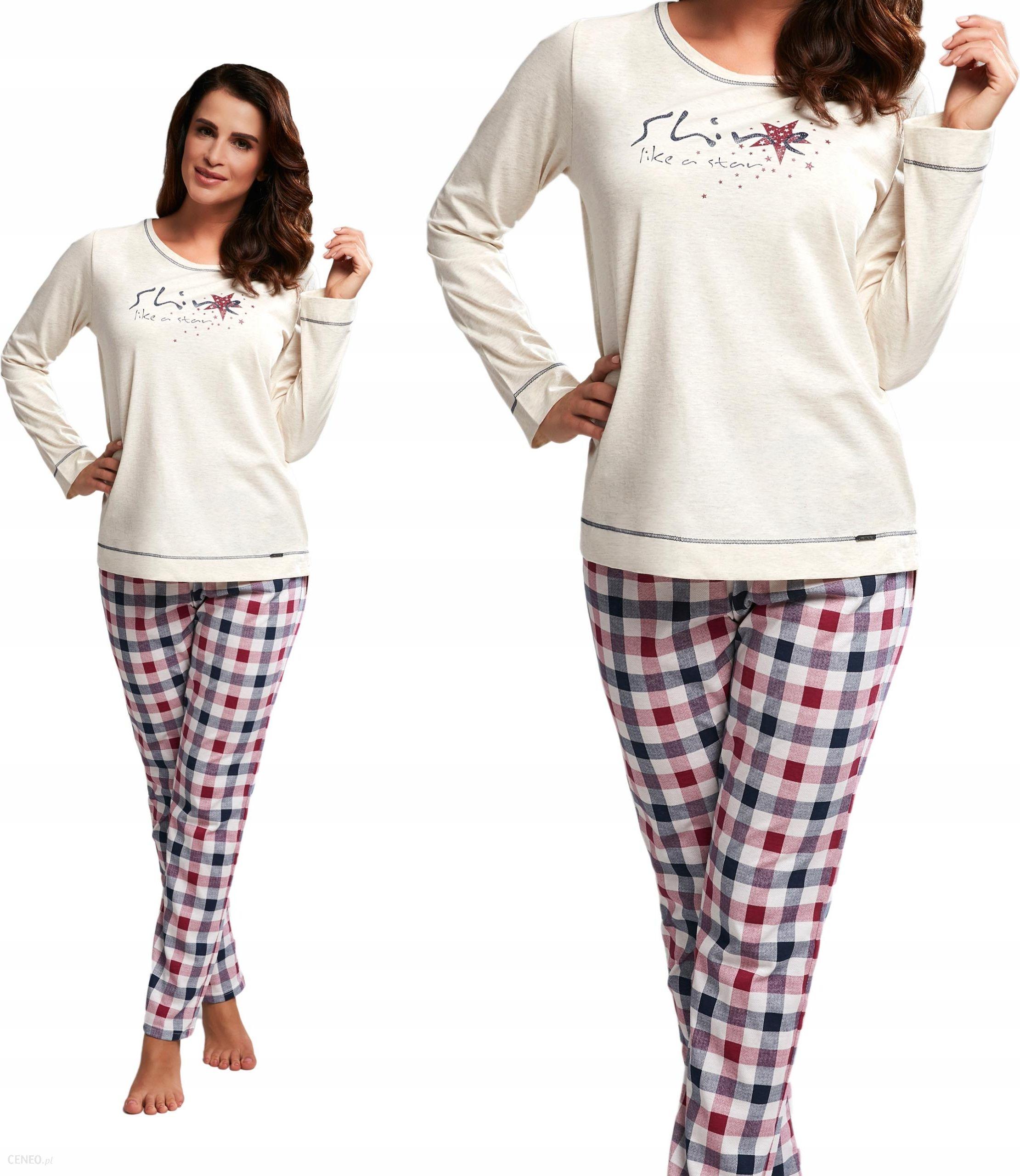 fdeac8f6f13ee5 Cornette piżama damska 655/163 SHINE XXL - Ceny i opinie - Ceneo.pl