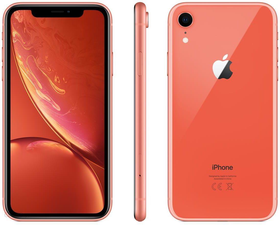 Apple Iphone Xr 64gb Koralowy Cena Opinie Na Ceneo Pl