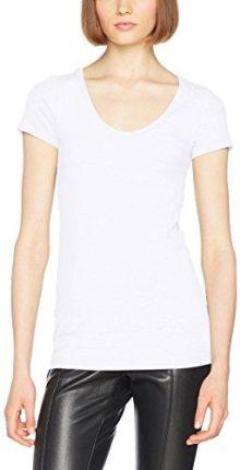 550f657a859cd Calvin Klein biała koszulka damska S S Crew Neck - XS - Ceny i ...