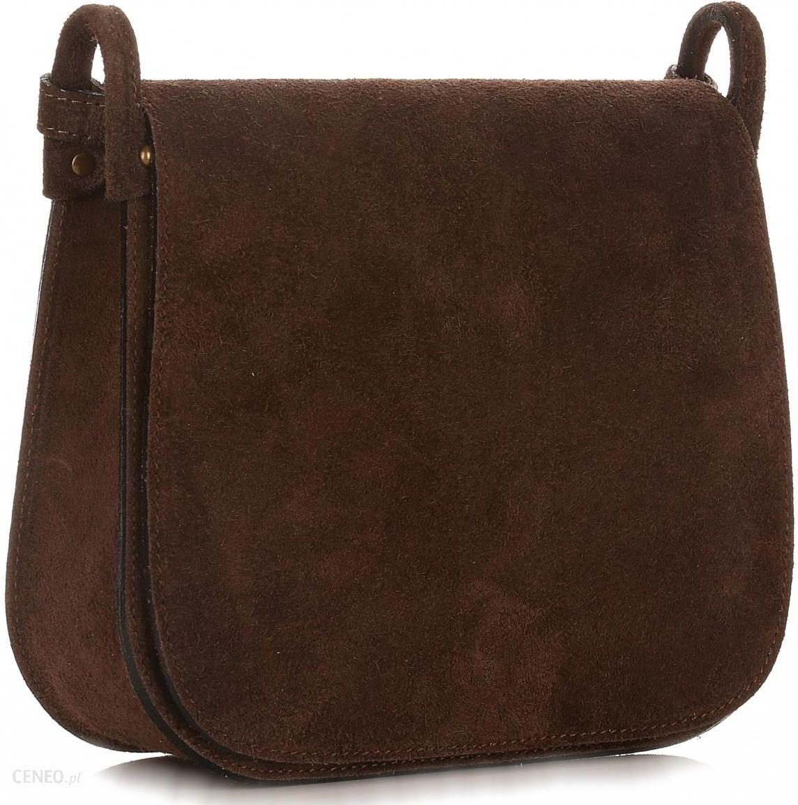 21903d6968bcf Torebki Listonoszki Skórzane Firmy Genuine Leather Czekoladowa (kolory) -  zdjęcie 1