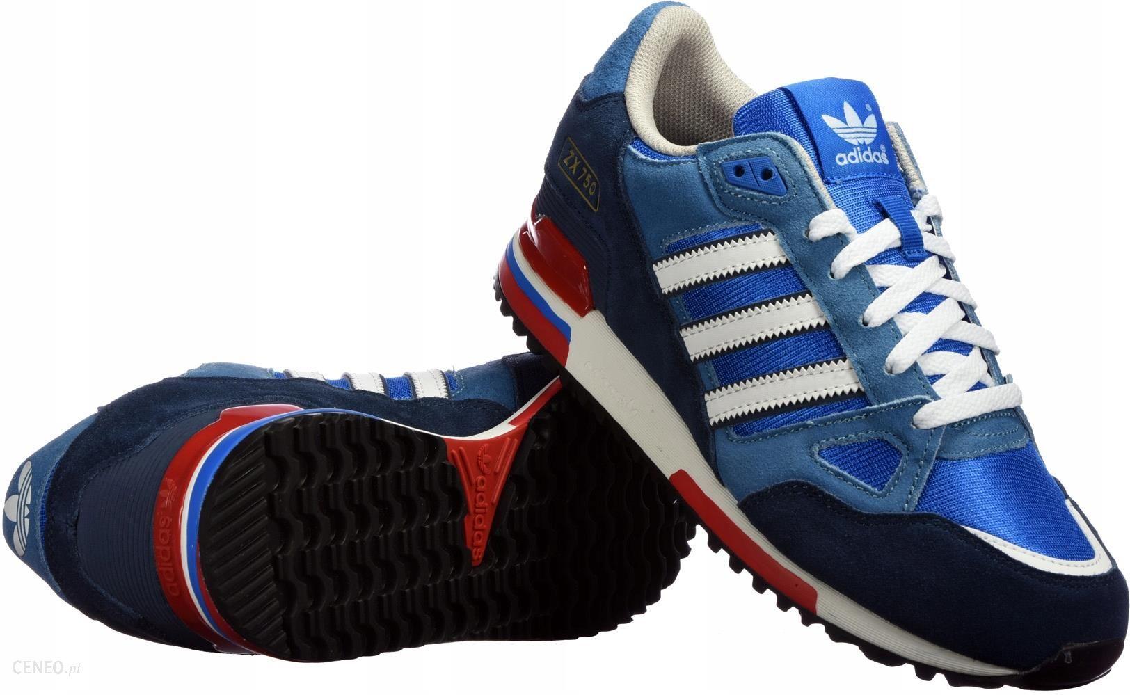 3810b637a ... promo code for buty mskie adidas zx 750 g96718 niebieskie r. 43 zdjcie  1 43f12