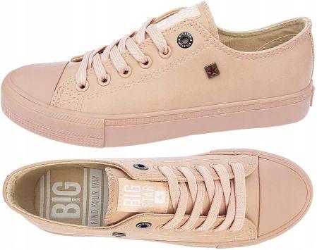 d7aa9d4e1aed6 Podobne produkty do Big Star trampki damskie niskie T274029 buty szare