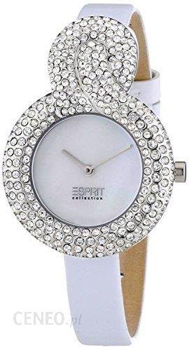 18c4862211de Amazon Esprit Collection damski zegarek na rękę XS krążowniki lekkie White  analogowy kwarcowy skórzany el101182 °