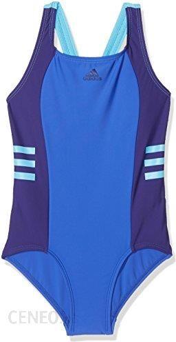 845c41dd2cff57 Amazon Adidas kostium kąpielowy dziewcząt OCC Swim INFINITEX,  wielokolorowa, 116 - zdjęcie 1