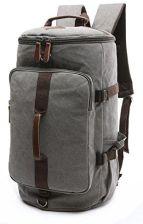 05c723b12639e Amazon baosha HB-26 3-ways Vintage płótno torba podróżna męska torba na  ramię