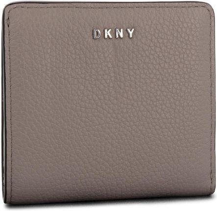 32f68b52857f0 Mały Portfel Damski DKNY - Bifold Wallet R83ZA657 Warm Grey WG5 eobuwie