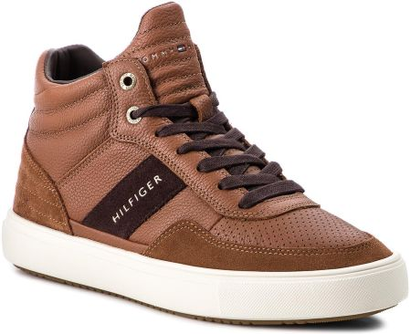 Sneakersy TOMMY HILFIGER - Lightweight Material FM0FM01702 Cognac 606  eobuwie 7037cc479860