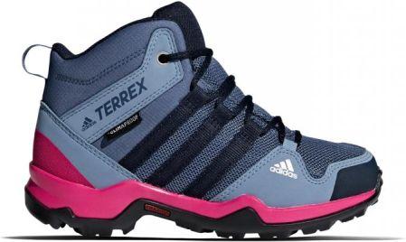 Buty dla dzieci adidas terrex ax2r mid cp k niebieskie