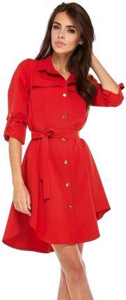 5c5a1167f1 Bergamo Sukienka koktajlowa z koła - Lidia - mailnowa